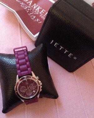Lila Armbanduhr hochwertig