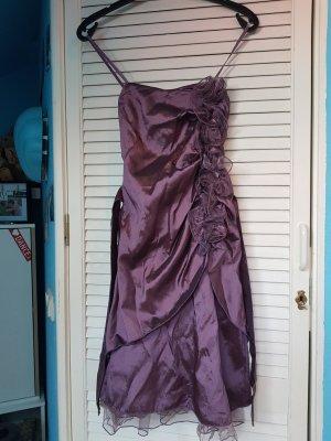 Vestido de baile lila