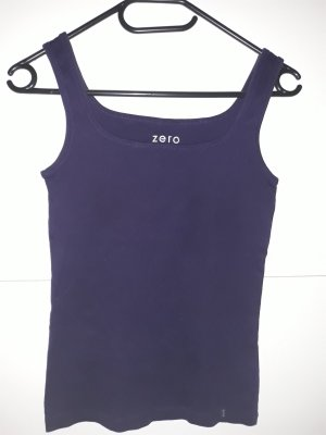 Zero Basic Top dark violet-blue violet