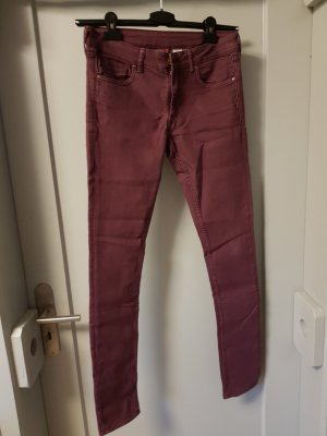 Lila/Beere Jeans von H&M in Größe 38