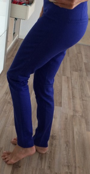 Lila/blaue stoffhose von H&M