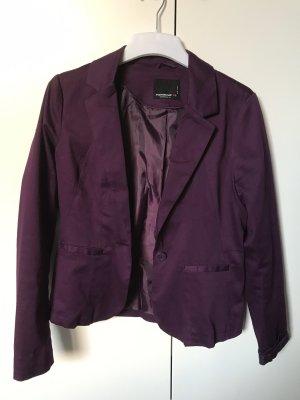 Fishbone Boyfriend Blazer dark violet-lilac