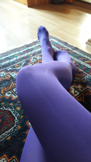 Bottom lilac polyester