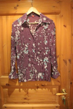 Lila Bluse mit muster gr. 44