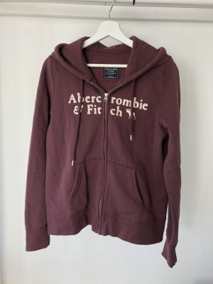 Abercrombie & Fitch Chaleco con capucha lila grisáceo-beige claro