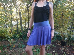 H&M Divided Circle Skirt lilac