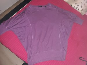 lila Fledermaus Shirt 36/38 Neu