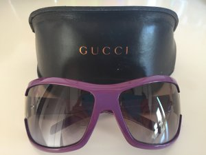 Gucci Round Sunglasses lilac-lilac synthetic material
