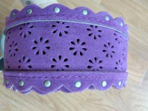 Amisu Cinturón de cadera lila