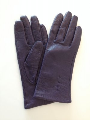 Lila Handschuhe elegant