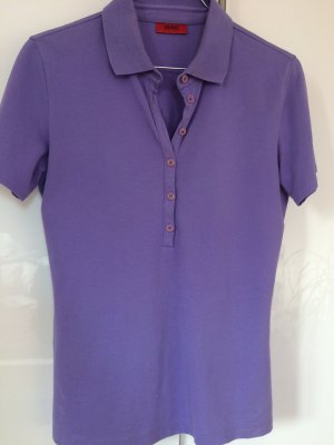 Lila Hugo Boss Polo Shirt Gr. 38