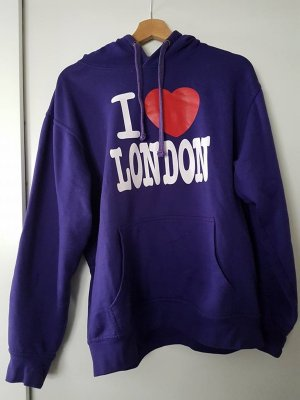 "Lila ""I love London"" Hoodie"