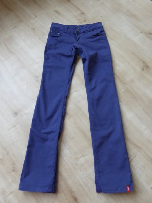lila Jeans leicht stretchig long