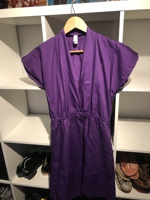 American Apparel Midi Dress lilac