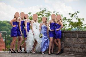 Lila Kleid in XXS (Ideal für Hochzeitsfeiern)
