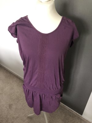 Esprit Cargo Dress dark violet cotton