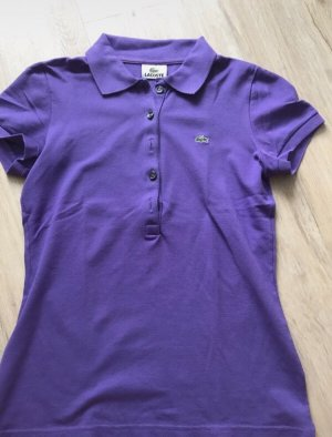 Lila Lacoste Polo Shirt