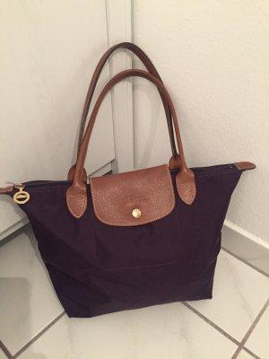 Lila Longchamp Tasche
