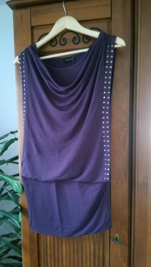 Lila Minikleid/ Longshirt