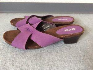 ara Sandalo con tacco lilla-marrone