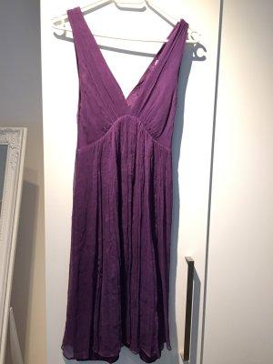 Zara Basic A-lijn jurk lila