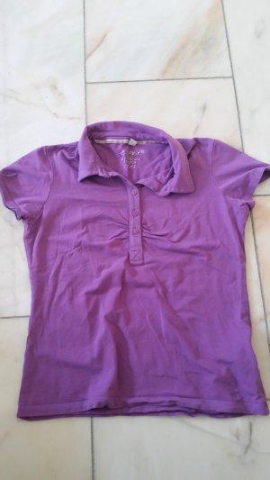 Lila Poloshirt
