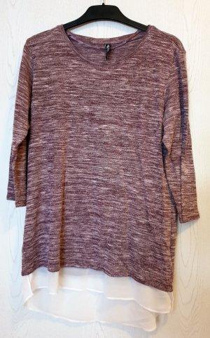 Takko Sweater grey lilac-white