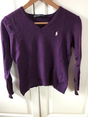 Ralph Lauren Sport Sudadera de cachemir violeta azulado-violeta oscuro