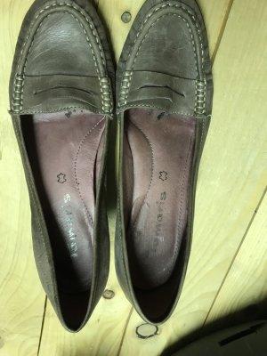 Tamaris Loafers grijs-paars