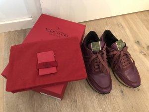 Lila Rockstud Sneaker