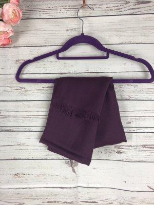 Pashmina marrone-viola-viola scuro Cotone