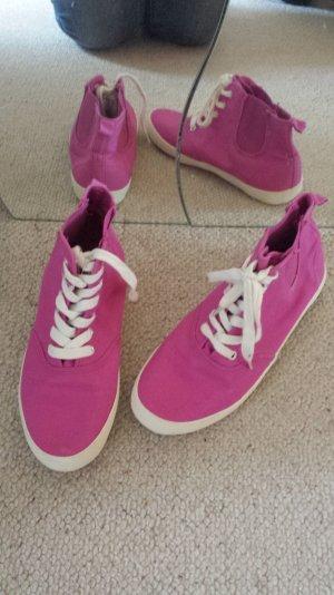 Lila Schuhe Sneaker Turnschuhe