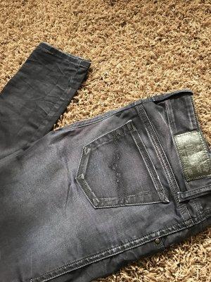 Lila/Schwarze Diesel Jeans
