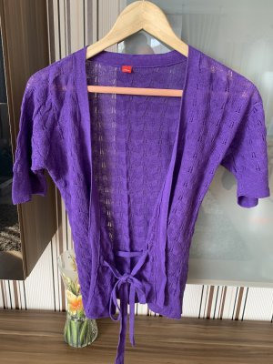 s.Oliver Camisa de ganchillo lila