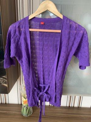s.Oliver Crochet Shirt lilac
