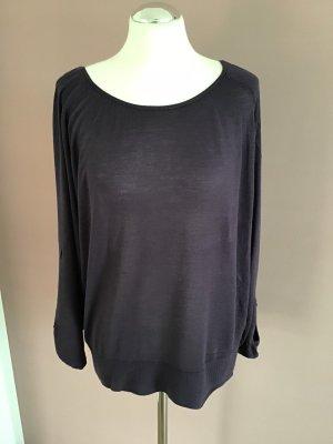 Only Camisa tejida violeta oscuro