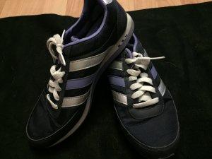 Lila-Silber Neo Adidas Schuhe