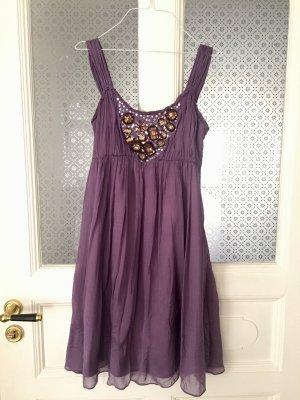 Lila Sommerkleid von Be Annvy in Gr. 36
