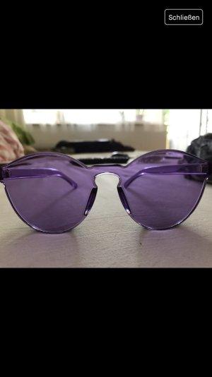 Lila Sonnenbrille Transparent