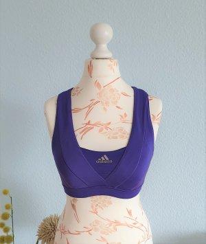 lila Sport-BH, Sport-Oberteil von Adidas