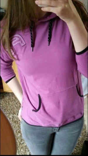 Lila Sport Langarmshirt