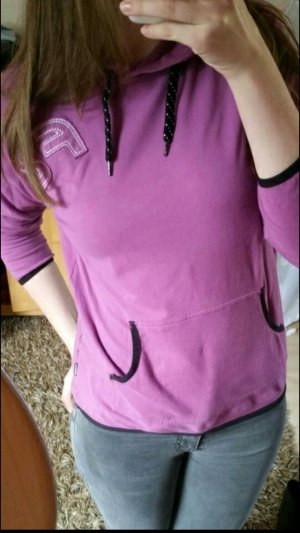 Jersey con capucha púrpura-lila grisáceo