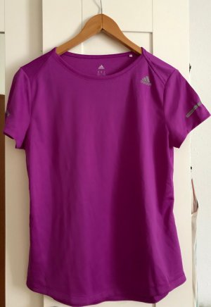 Lila Sport Tshirt von Adidas