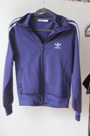Lila Sportjacke von Adidas