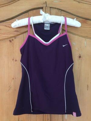 Lila Sporttop von Nike
