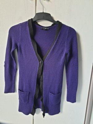 Tally Weijl Gilet tricoté violet foncé