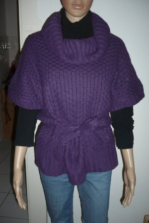 Pimkie Cardigan long violet-lilas acrylique