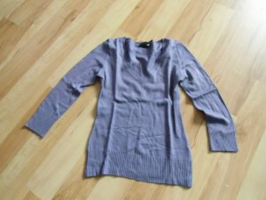 Lila sweat-shirt mit 3/4 arm