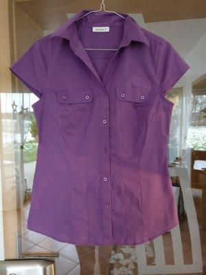 Lila T-Shirt Bluse von Yessica