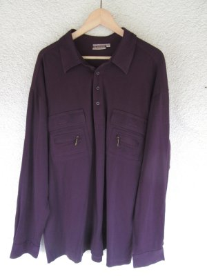 Lila T-Shirt Vintage Retro oversize